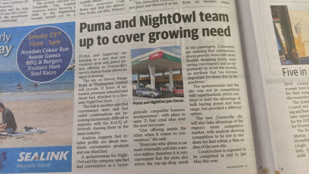 Townsville Bulletin 22/01/2021