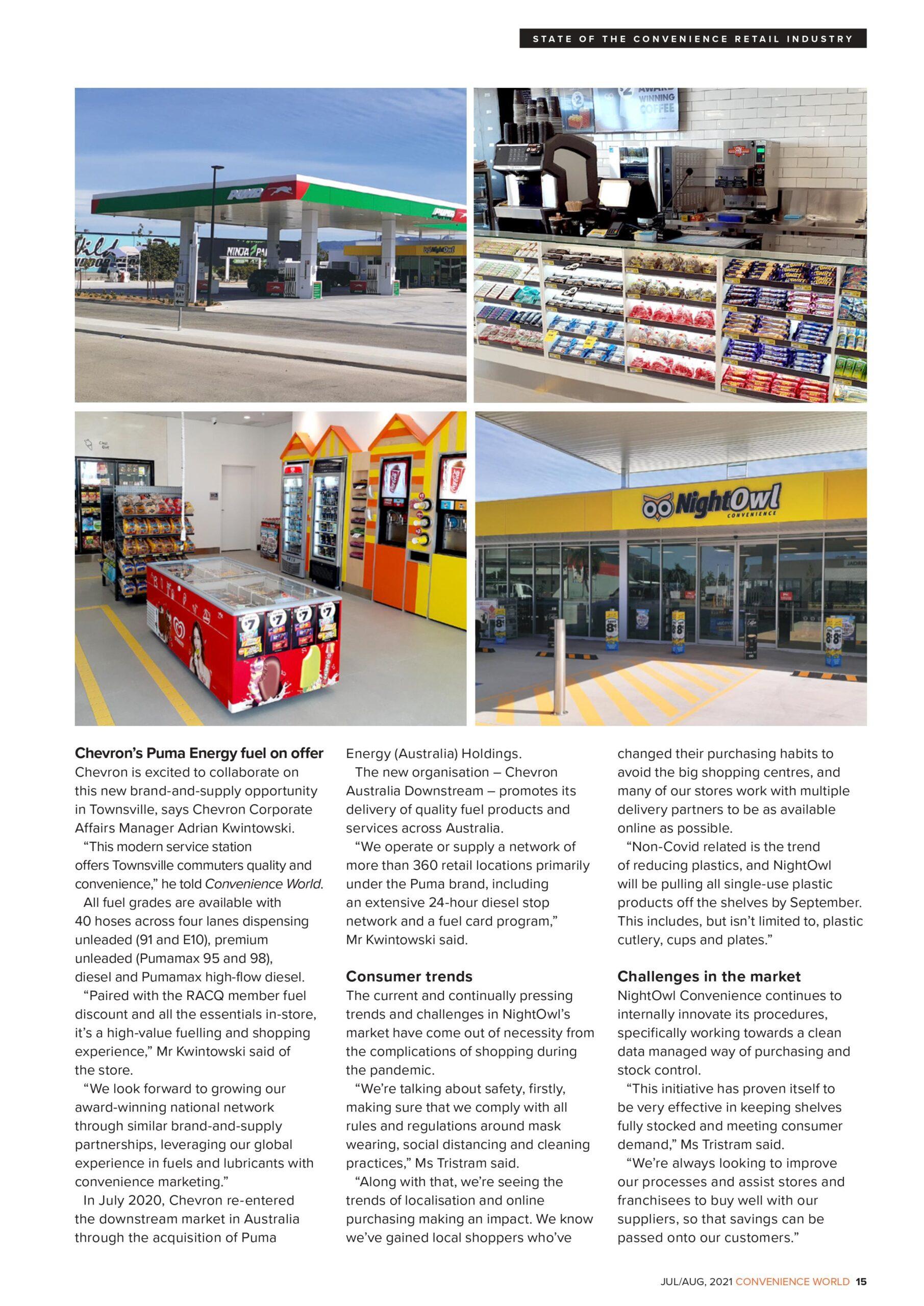 NightOwl Hervey Range store news
